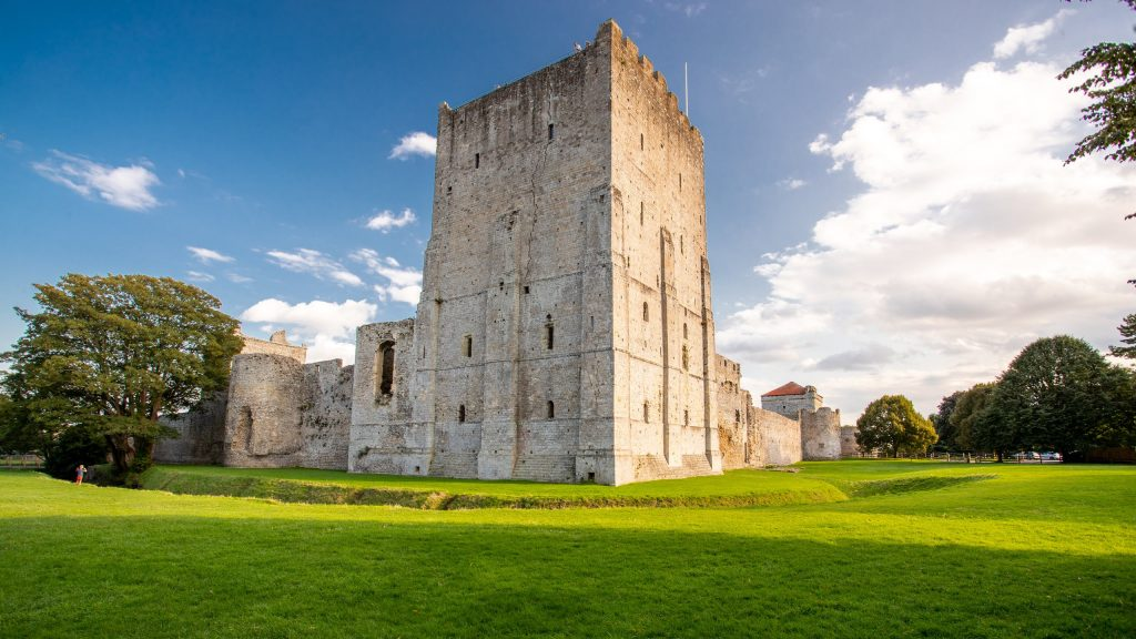 picture of portchester castle